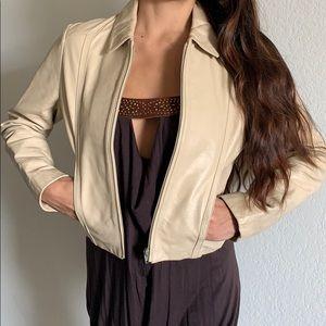 100% Genuine Leather Crop Jacket
